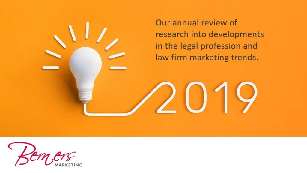 2019 research into law firms and the legal market